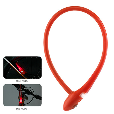 Muilt-Function Silicone Overmoulded Cable Lock
